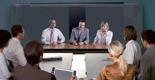 Sony Telepresence mit realer lebensechten Darstellung